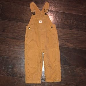 Carhartt Bob Overalls Toddler Size 18m
